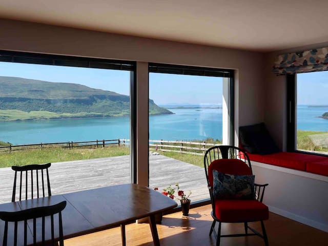 'Overwater' Lochbay -Unique Home, Unrivalled Views