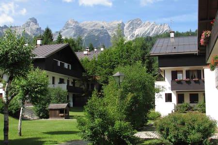 Dolomites 2bd with parking - Pralongo - Lägenhet