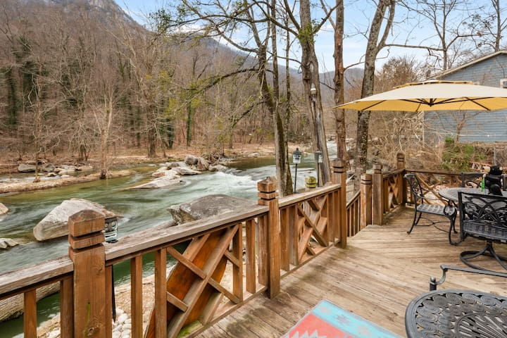 Chimney Rock River House - Mr Lake Lure Vacation Rentals