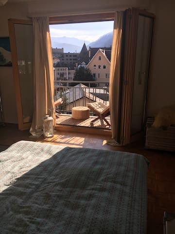 Zimmer im Stadtzentrum von Brig