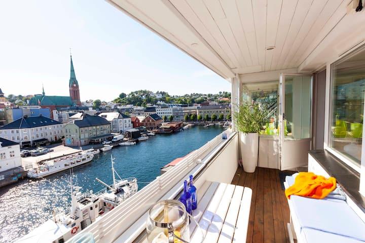 Flott leilighet sentralt i Arendal