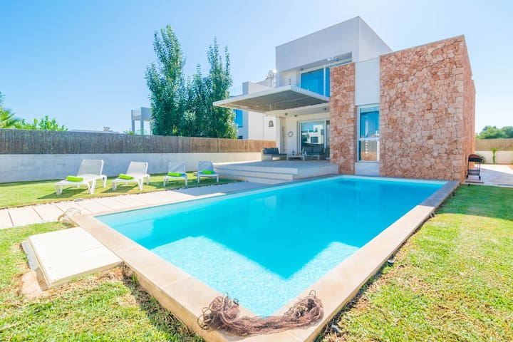 CAN BOSQUERRÓ - Villa for 5 people in Sa Ràpita.