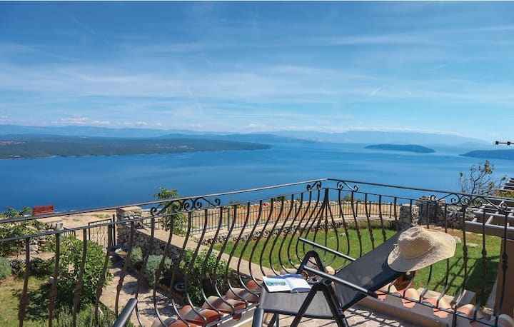 Vacation house La Sella-beautiful view of Kvarner