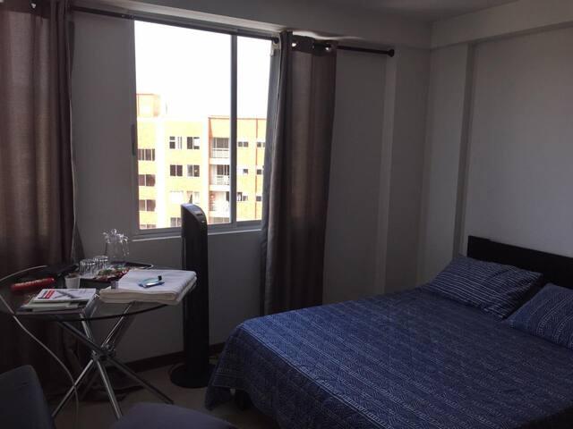 Apartamento comodo, agradable y muy bien ubicado
