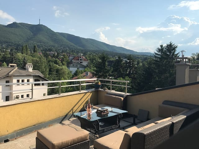 -See Sofia- Penthouse | Amazing Terraces with View