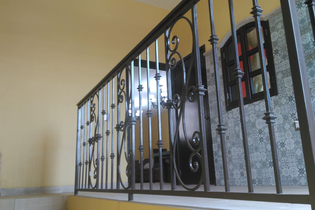 This is the entry way as you enter from the downstairs