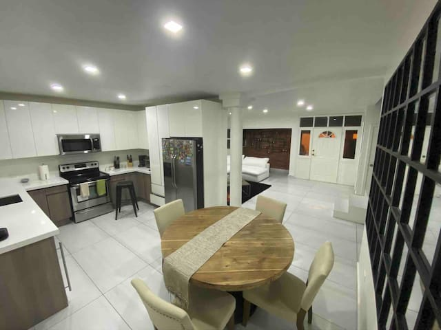 small condo and quiet central in the city
