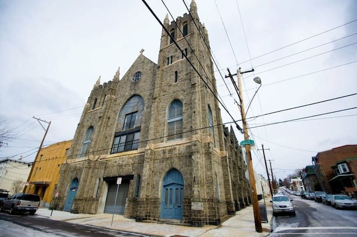 MANAYUNK CONDO converted Church - Philadelphie - Loft