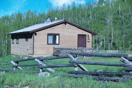 Riverside Cabin Retreat on  Elk River in Clark,Co