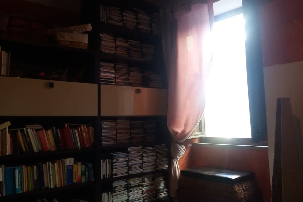 libreria e Dvd