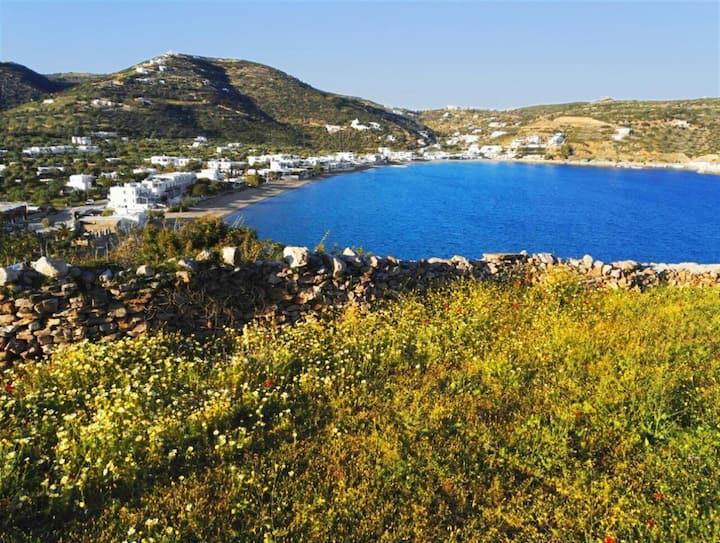 Studio de charme vue mer à  Platys Gialos, Sifnos