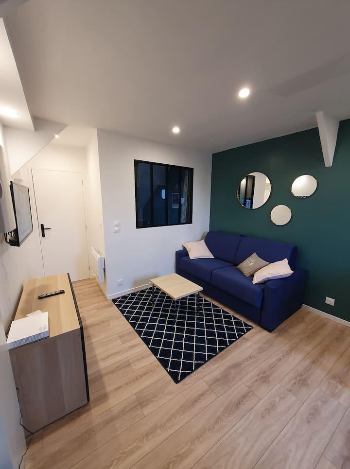 Appartement avec chambre - Hypercentre de Nantes