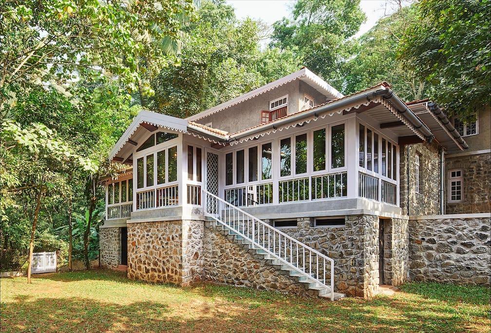 Belle Vue Cottage Luxury Victorian Estate Bungalows For Rent In Khandala Maharashtra India