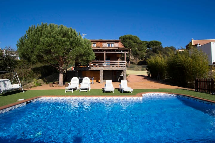 Pleasant villa Tordera 5km to beach - Tordera