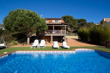 Pleasant villa Tordera 5km to beach - Tordera - Ev