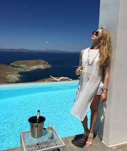 Villa Meli.Here,the sky is the limit! - Kea Kithnos