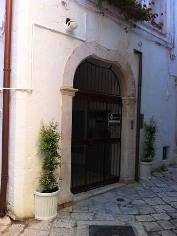 Entrata Palazzo B&B
