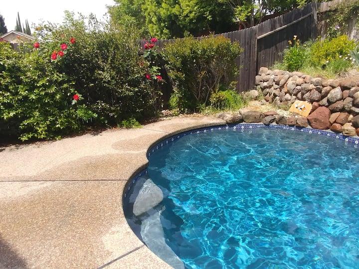 Spacious Comfortable Home | 4 beds,Pool, hot-tub