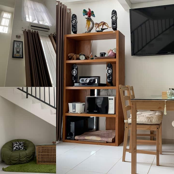 Qyuza House (Exclusive loft apartment in BSD CITY)