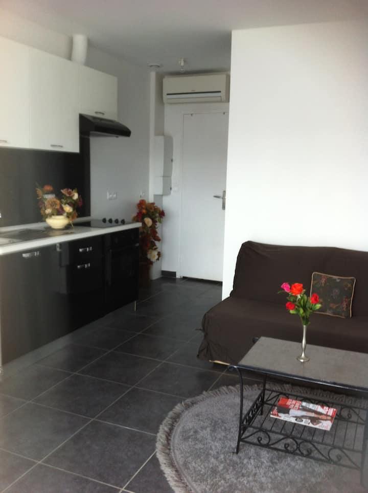 Appartement cosy en résidence - 1 chambre