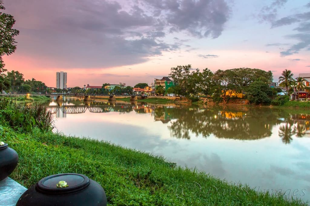 Condo situated in the vibrant Nong Hoi suburb of Chiangmai on the river Ping