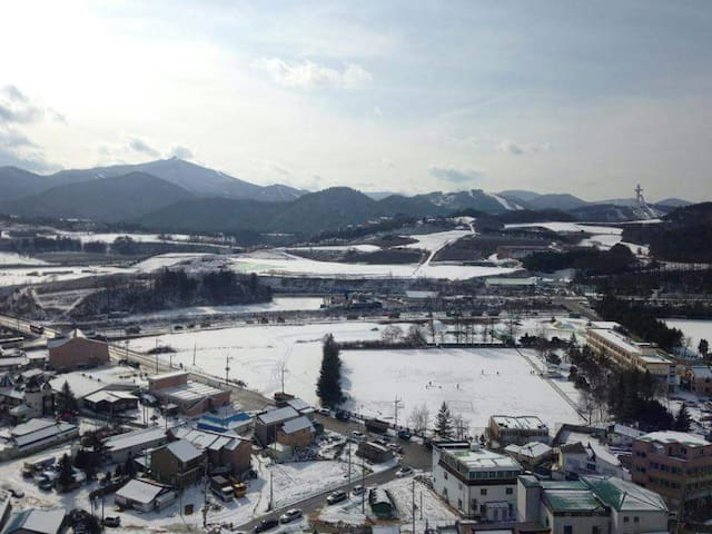 Easy access to YongPyong resort - Pyeongchang-gun - Appartement