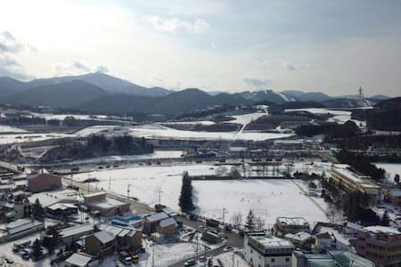 Easy access to YongPyong resort - Pyeongchang-gun
