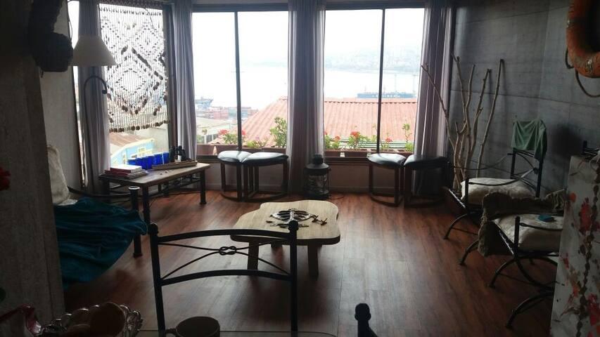 Casa en Puerto Valparaiso ciudad patrimonio - Valparaíso - Haus