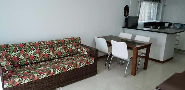 Apartamento aconchego na Praia da Pinheira