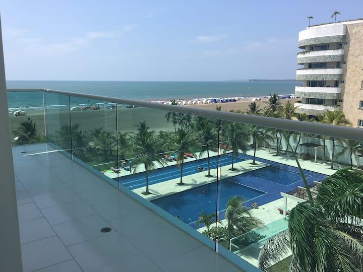 Apt vista al mar: Edif Morros 922