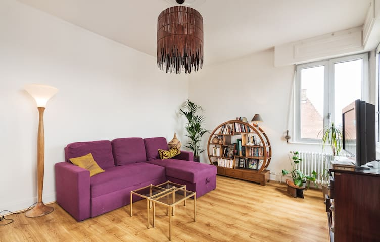 Newly furnished and shiny flat in Cronenbourg - Strasbourg - Leilighet