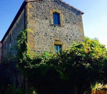 un Etruscan Place: Maison Traditionel de Maremma - Sovana - Hus