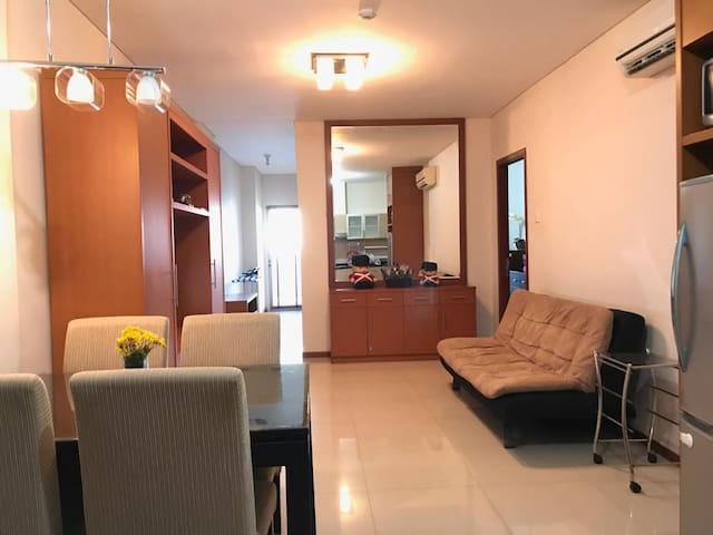 Thamrin Residence,Spacious 2BR, 77m, Best Location