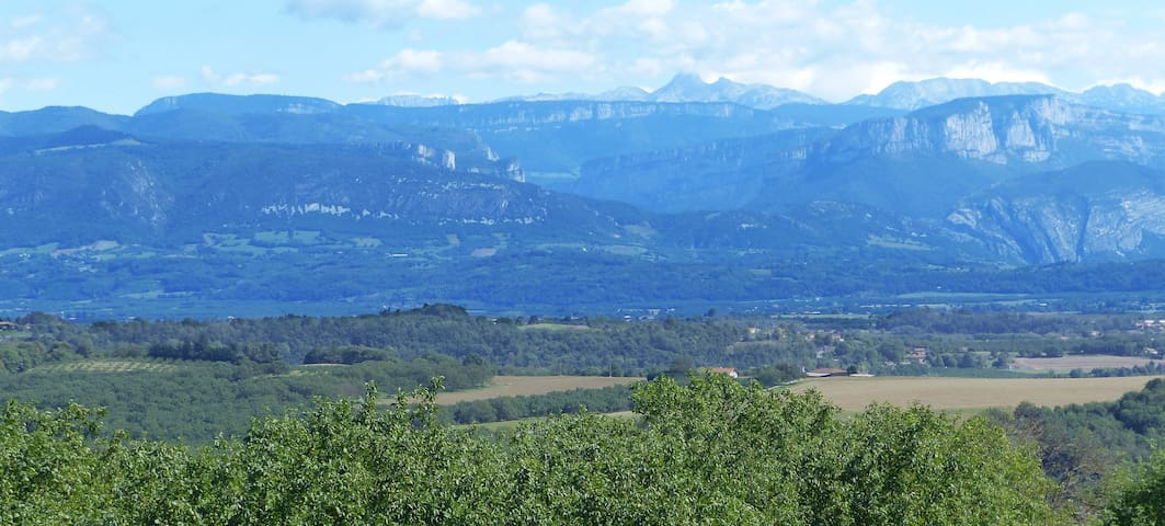 Appartement avec vue sur le massif du Vercors