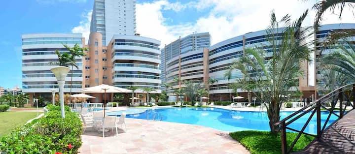 Oásis Spa Home Resort - Apartamento na Praia