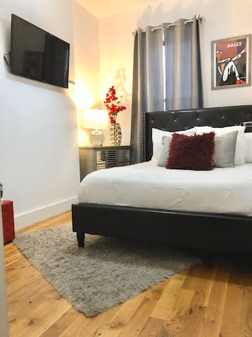 Chic Bedroom in Brooklyn. You'll love it.