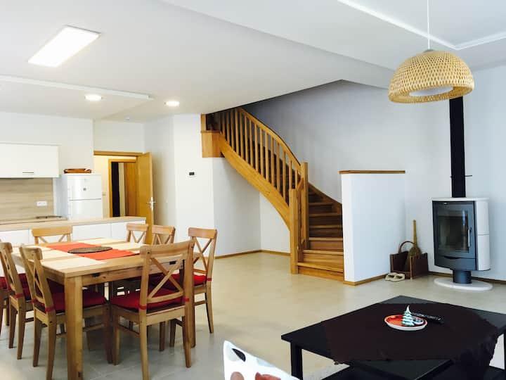 Modern House with Sauna in the heart of Krkonoše