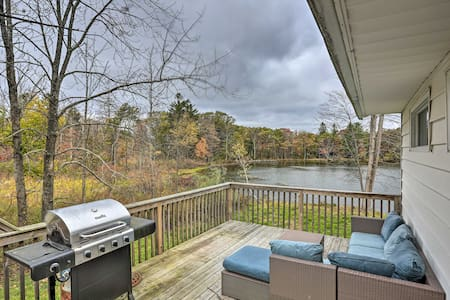 Upstate Family Lake House w/Game Room & Deck!