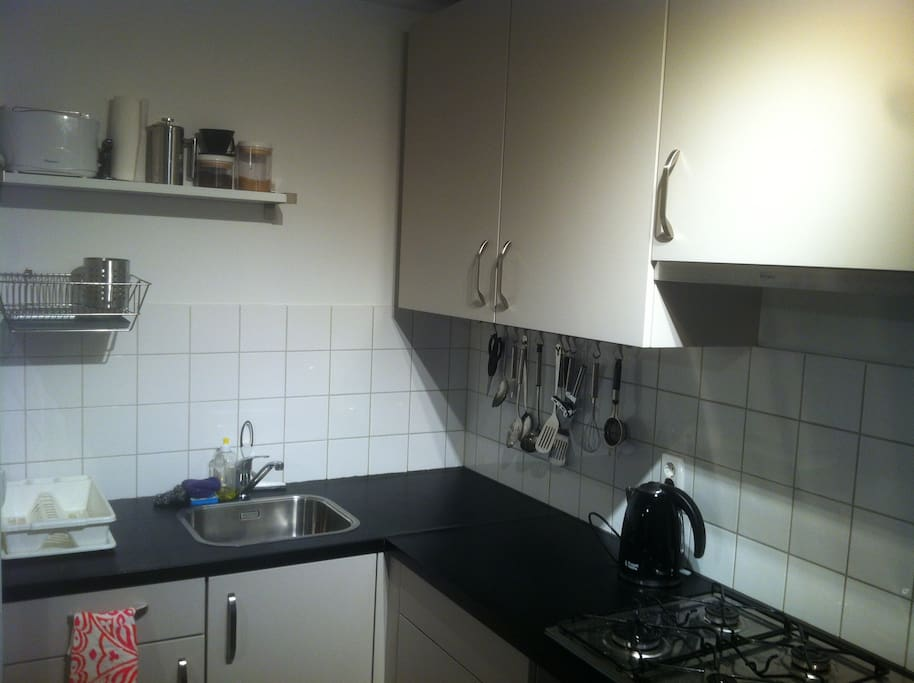 Well-equipped kitchen