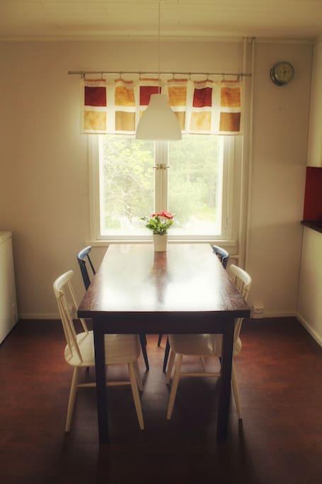 Kitchen table #1.