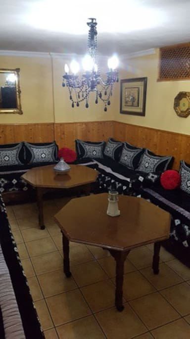 salón estilo arabe