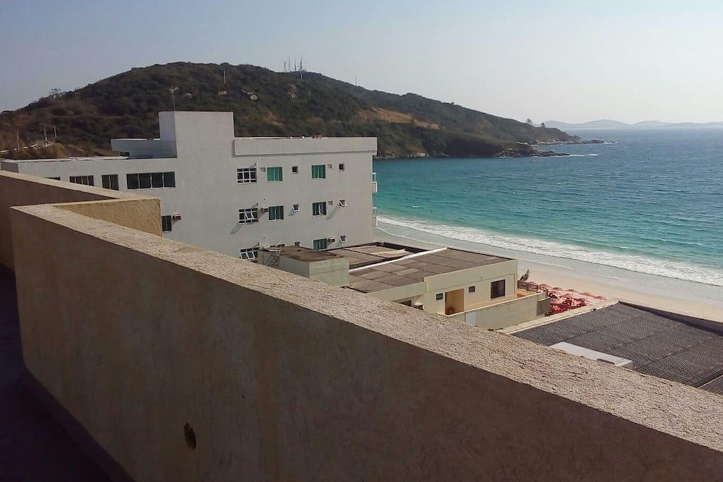 Vista do terraço lado esquerdo