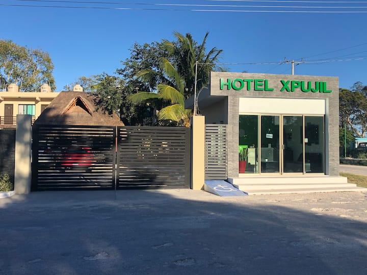 Hotel Xpujil Habitación ( 2 Matrimoniales)