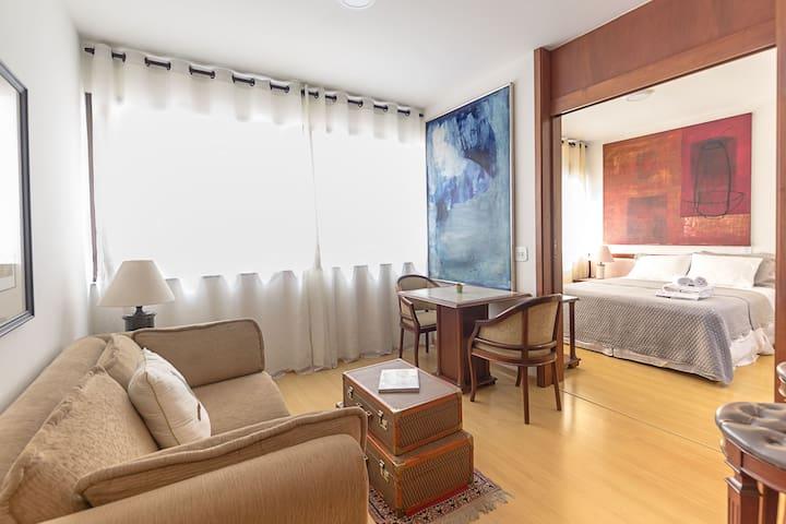 AL126 Charming flat in Jardins district