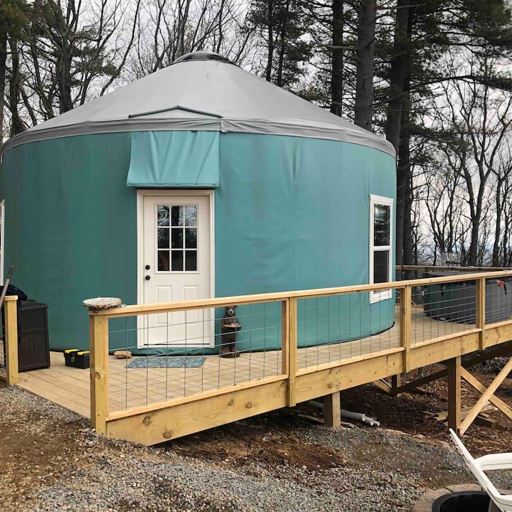 Yurt glamping in virginia