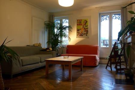 Bel appartement 70m2 pentes de la Croix-Rousse - Lyon