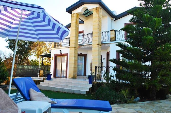 Villa with partial sea views!