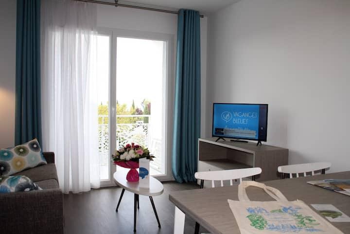 Appartement Neuf et équipé, près des Antilles