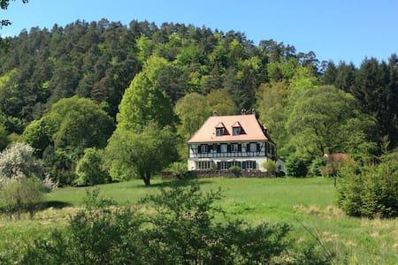 Jagd- und Forsthaus im Nordelsass - House