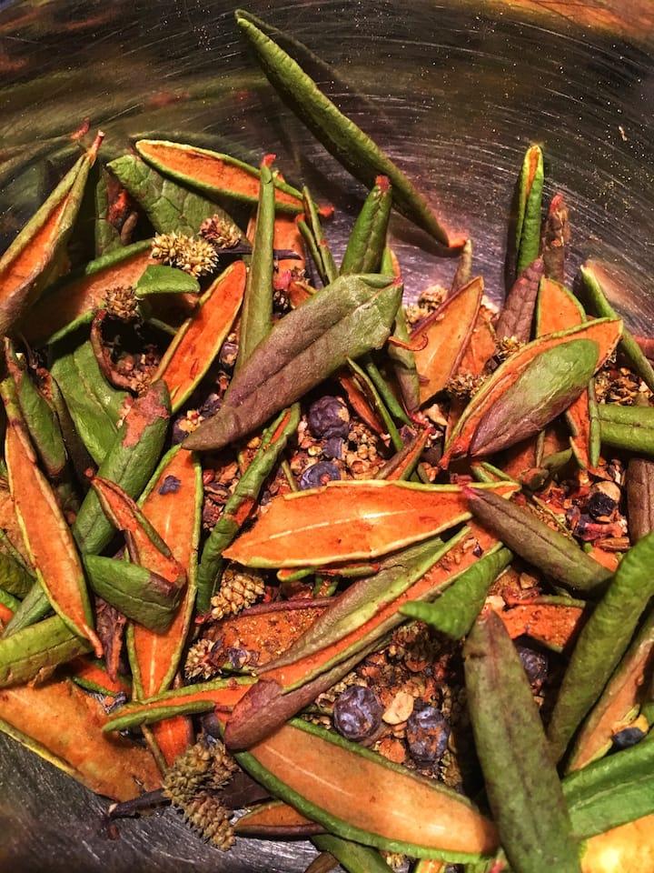 Épices boréales utilisés pour bouchés